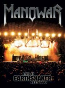 Manowar - Live At Earthshaker Fest 2005 cover art