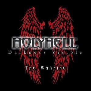 HolyHell - Darkness Visible - the Warning cover art