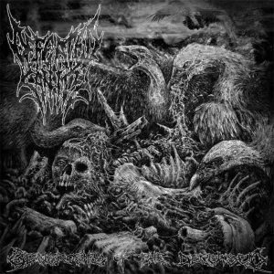 Defeated Sanity / Mortal Decay - Generosity of the Deceased / Post-Anatomical Savagery cover art