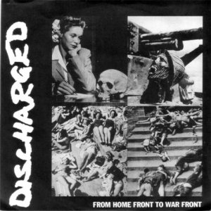 Neurosis / Extreme Noise Terror - Discharged: From Home Front to War Front cover art
