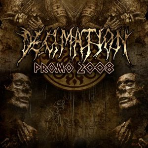 Decimation - promo 2008 cover art