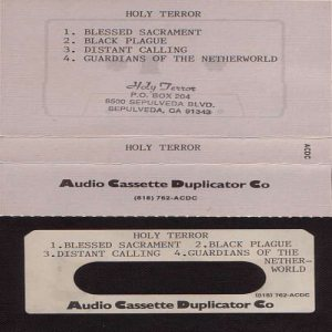 Holy Terror - Demo 1986 cover art