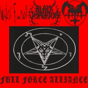 Satan / Witch Funeral - Full Force Alliance cover art