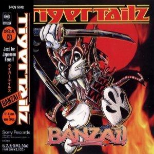 Tigertailz - Banzai ! cover art
