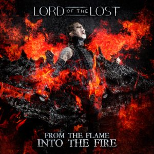 Lord of the Lost - From the Flame Into the Fire cover art