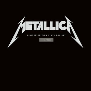 Metallica - Vinyl Box Set cover art