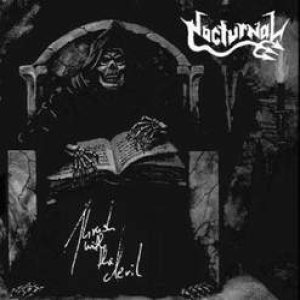 Nocturnal - Thrash with the devil cover art