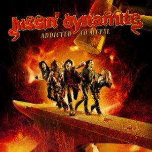 Kissin' Dynamite - Addicted to Metal cover art