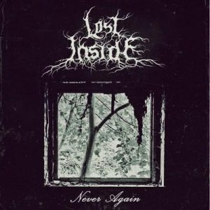 Lost Inside - Never again cover art