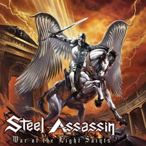 Steel Assassin - War of the Eight Saints cover art