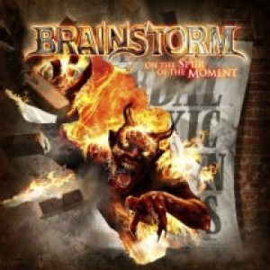 Brainstorm - On the Spur of the Moment cover art