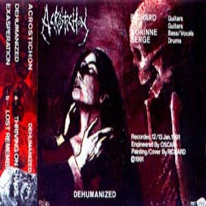 Acrostichon - Dehumanized cover art