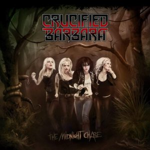 Crucified Barbara - The Midnight Chase cover art
