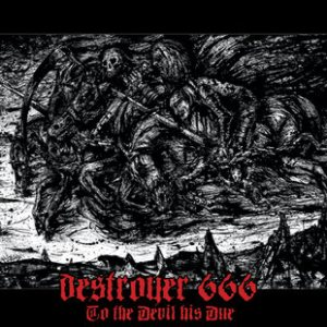 Destroyer 666 - To the Devil His Due cover art