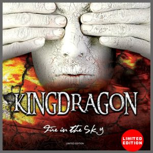 KINGDRAGON - Fire in the Sky cover art