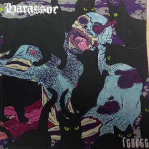 Author & Punisher / Harassor - Fearce cover art