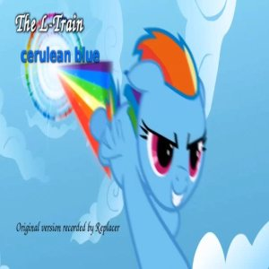 The L-Train - Cerulean Blue (Replacer cover) cover art