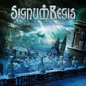 Signum Regis - Through the Storm cover art