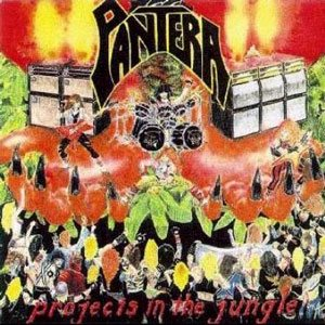 Pantera - Projects in the Jungle cover art