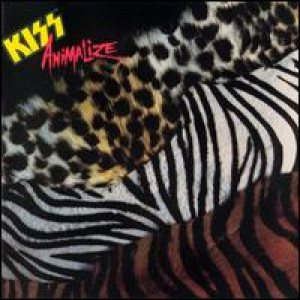 Kiss - Animalize cover art