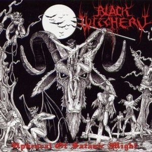 Black Witchery - Upheaval of Satanic Might cover art
