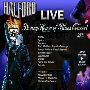 Halford - Disney House of Blues Concert cover art