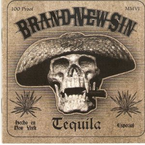 Brand New Sin - Tequila cover art