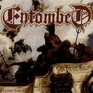 Entombed - Serpent Saints - the Ten Amendments cover art