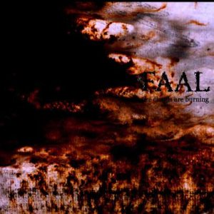 Faal - The Clouds Are Burning cover art