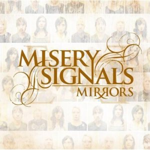 Misery Signals - Mirrors cover art