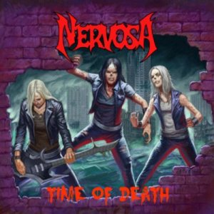 Nervosa - Time of Death cover art