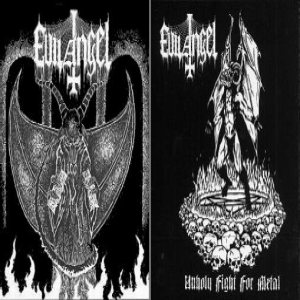 Evil Angel - Unholy Fight for Metal cover art