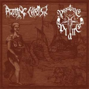 Negative Plane / Rotting Christ - Rotting Christ / Negative Plane cover art