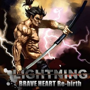 Lightning - Brave Heart Re-birth cover art