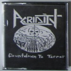 Acridity - Countdown to Terror cover art