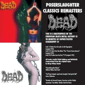 Dead - Poserslaughter Classics Remasters cover art