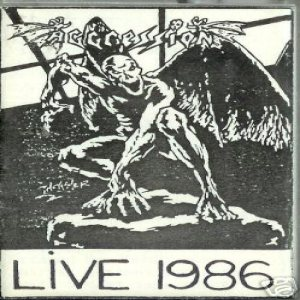 Aggression - Live 1986 cover art
