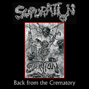 Supuration - Back from the Crematory cover art