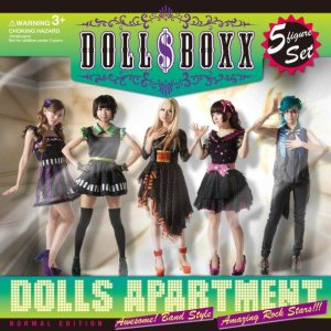 DOLL $ BOXX - Dolls Apartment cover art