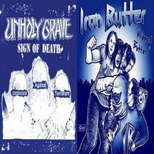 Unholy Grave - Sign of Death / Whipped Butter cover art
