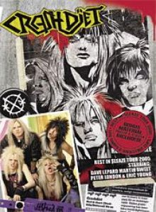 Crashdiet - Rest in Sleaze Tour 2005 cover art