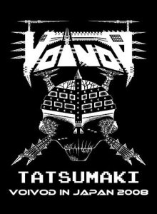 Voivod - Tatsumaki: Voivod in Japan 2008 cover art