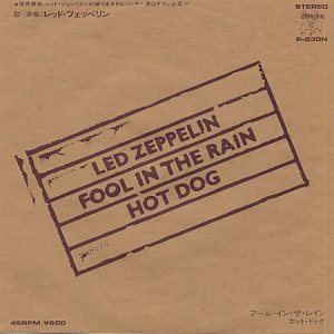 Led Zeppelin - Fool in the Rain cover art