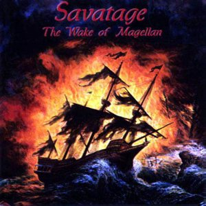 Savatage - The Wake of Magellan cover art