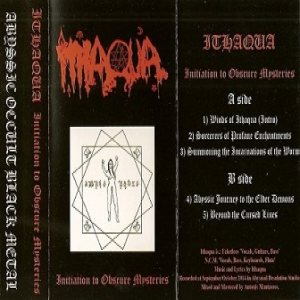 Ithaqua - Initiation to Obscure Mysteries cover art
