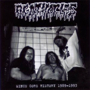 Agathocles - Mincecore History 1989-1993 cover art