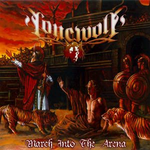 Lonewolf - March Into the Arena cover art