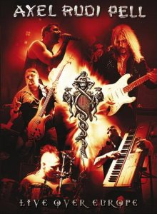 Axel Rudi Pell - Live Over Europe cover art