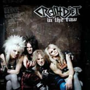 Crashdiet - In the Raw cover art