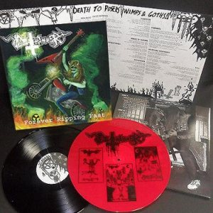 Deathhammer - Forever Ripping Fast cover art